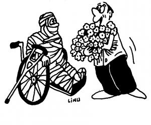 Linu caricatura