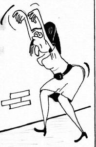 Caricatură de LINU