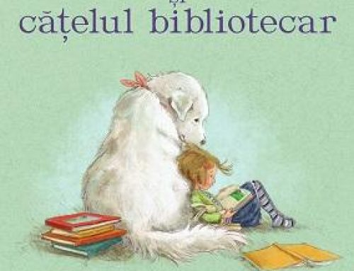 """Nectaria Andreescu citește """"Madeline Finn și cățelul bibliotecar"""""""