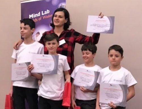 În elita Mind Lab, cu o excelentă antrenoare de minți: Ana-Maria Lazăr