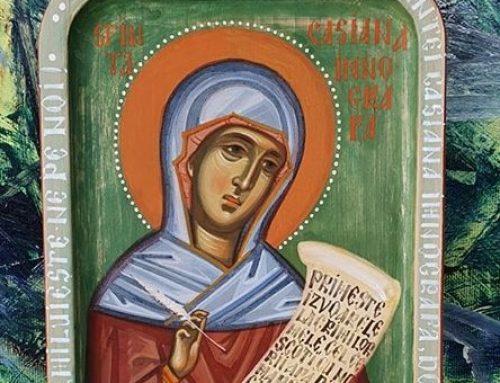Sfânta Casiana, singura femeie imnograf a bisericii
