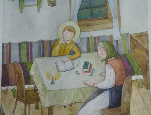 Sfântul Ioan Iacob Hozevitul: Dorul bunicii